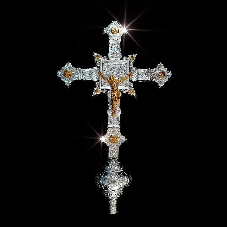 Cruz en Oro y Plata
